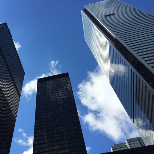 image of tall buildings in the heart of Toronto